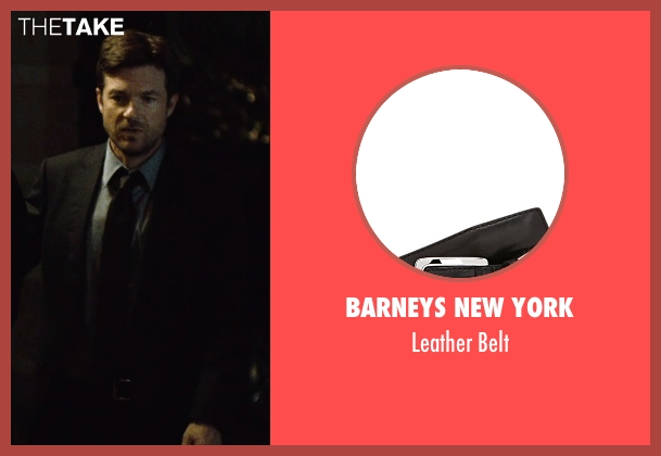 Barneys New York black belt from The Gift seen with Jason Bateman (Simon)