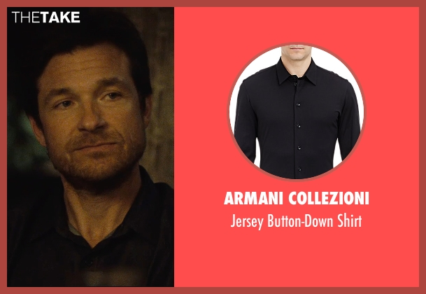 Armani Collezioni black shirt from The Gift seen with Jason Bateman (Simon)