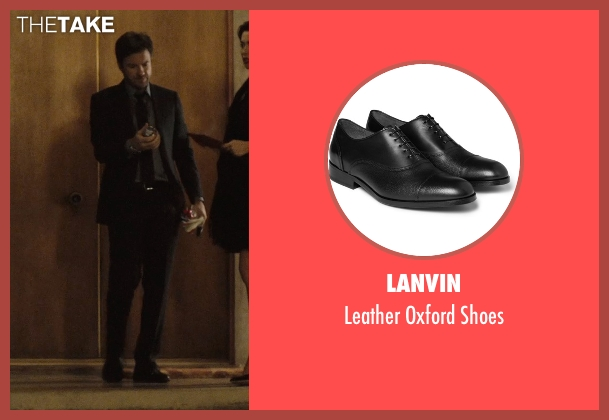 Lanvin black shoes from The Gift seen with Jason Bateman (Simon)