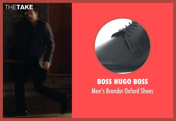 Boss Hugo Boss black shoes from The Gift seen with Jason Bateman (Simon)