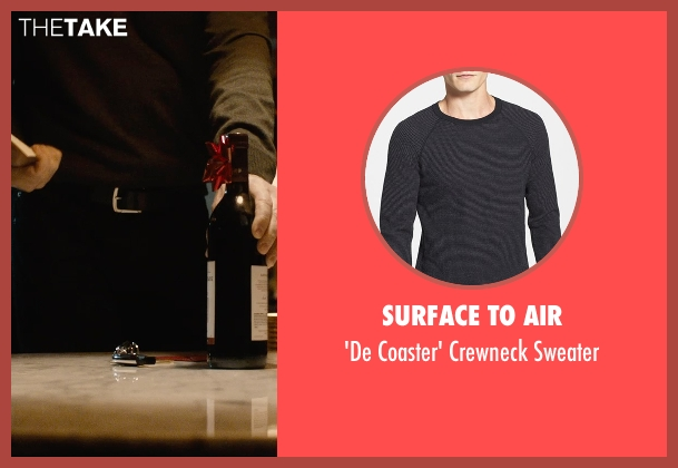 Surface To Air black sweater from The Gift seen with Jason Bateman (Simon)