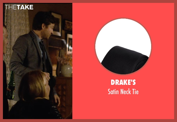 Drake's black tie from The Gift seen with Jason Bateman (Simon)