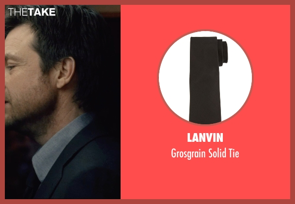 Lanvin	 black tie from The Gift seen with Jason Bateman (Simon)
