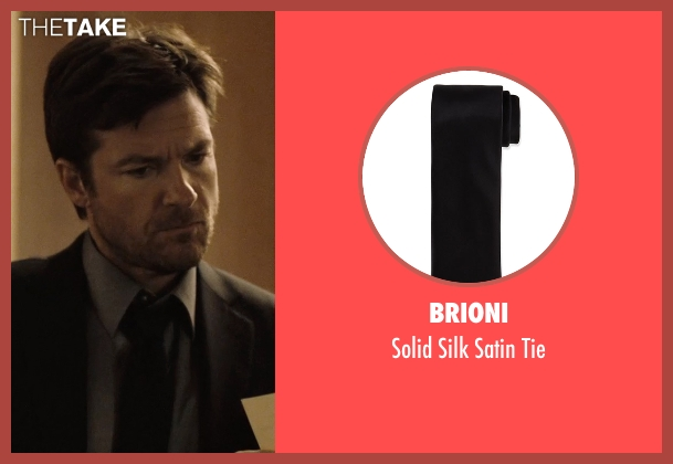 Brioni	 black tie from The Gift seen with Jason Bateman (Simon)