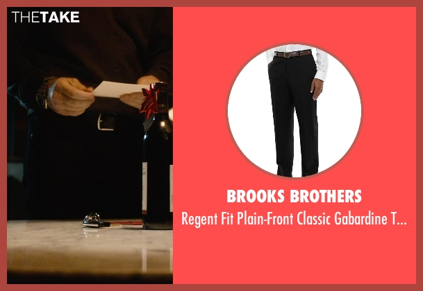 Brooks Brothers black trousers from The Gift seen with Jason Bateman (Simon)