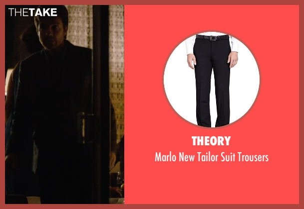 Theory black trousers from The Gift seen with Jason Bateman (Simon)