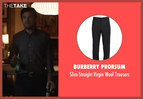Burberry Prorsum black trousers from The Gift seen with Jason Bateman (Simon)