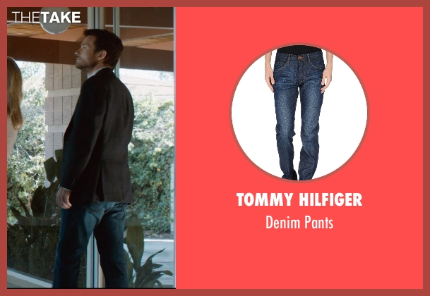 Tommy Hilfiger blue pants from The Gift seen with Jason Bateman (Simon)