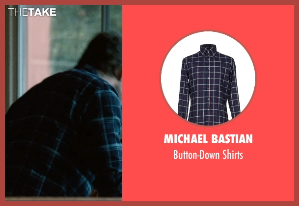 Michael Bastian blue shirts from The Gift seen with Jason Bateman (Simon)