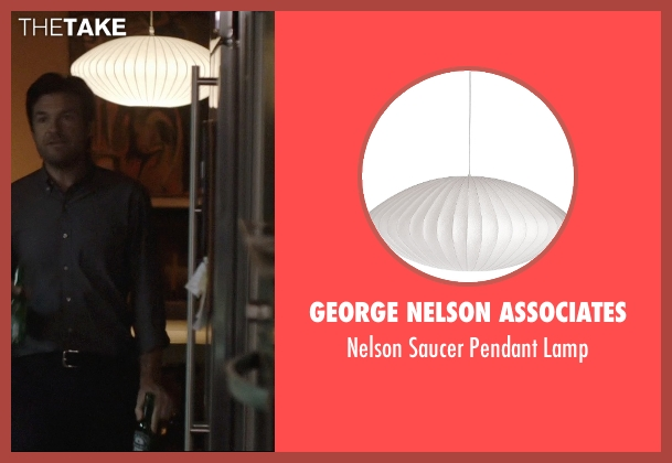 George Nelson Associates lamp from The Gift seen with Jason Bateman (Simon)