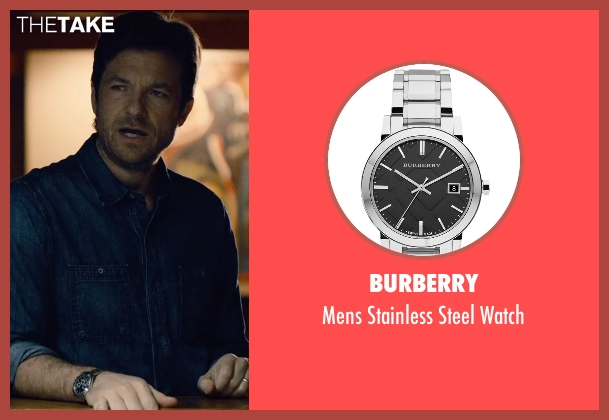 Burberry silver watch from The Gift seen with Jason Bateman (Simon)