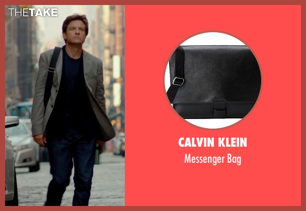 Calvin Klein black bag from This Is Where I Leave You seen with Jason Bateman (Judd Altman)
