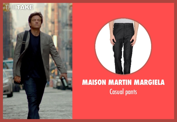 MAISON MARTIN MARGIELA black pants from This Is Where I Leave You seen with Jason Bateman (Judd Altman)