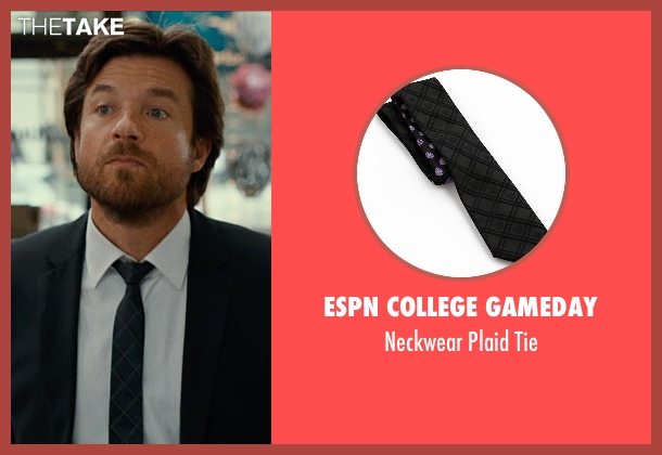 ESPN COLLEGE GAMEDAY black tie from This Is Where I Leave You seen with Jason Bateman (Judd Altman)