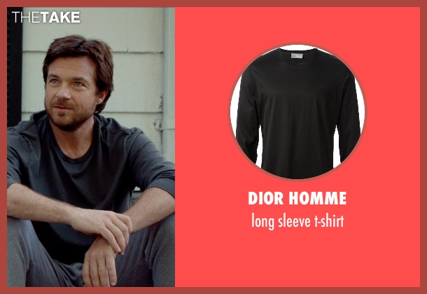 DIOR HOMME black t-shirt from This Is Where I Leave You seen with Jason Bateman (Judd Altman)