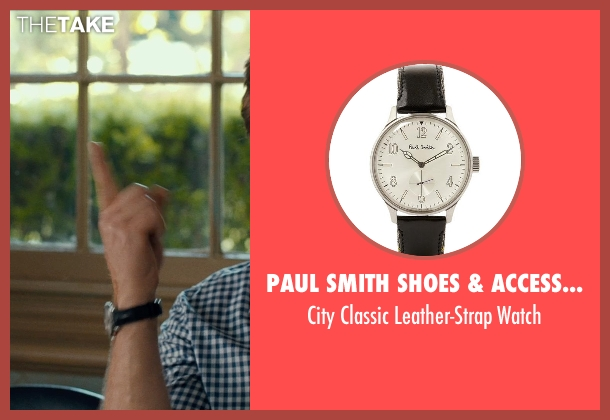 PAUL SMITH SHOES & ACCESSORIES black watch from This Is Where I Leave You seen with Jason Bateman (Judd Altman)