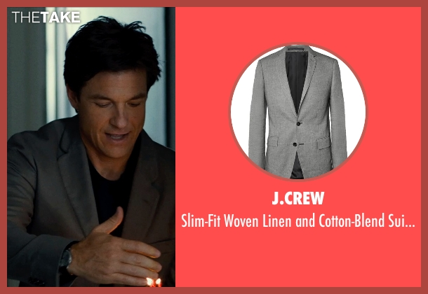 J.Crew gray jacket from This Is Where I Leave You seen with Jason Bateman (Judd Altman)