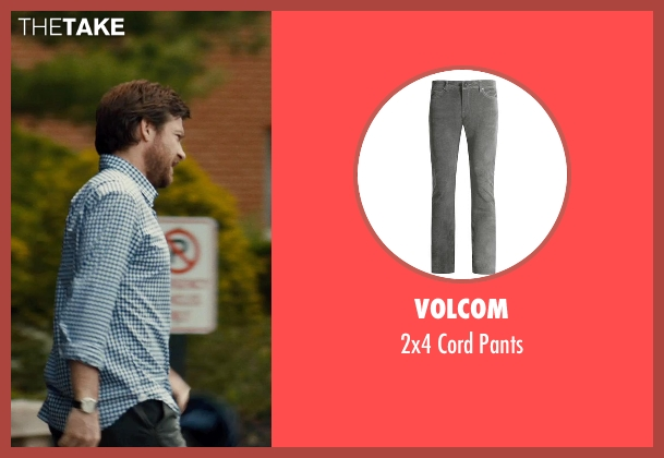 VOLCOM gray pants from This Is Where I Leave You seen with Jason Bateman (Judd Altman)