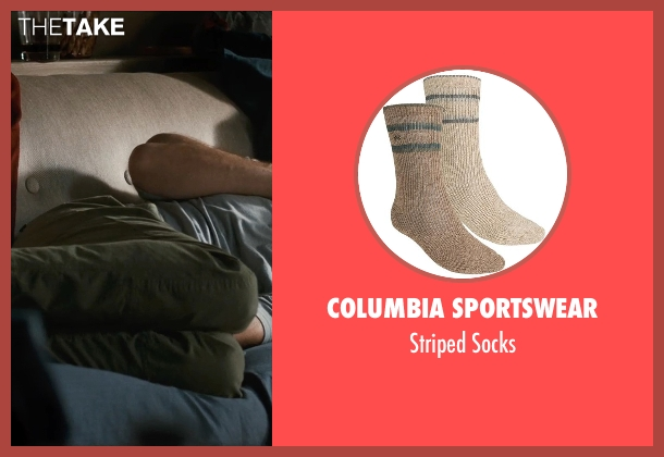Columbia Sportswear gray socks from This Is Where I Leave You seen with Jason Bateman (Judd Altman)