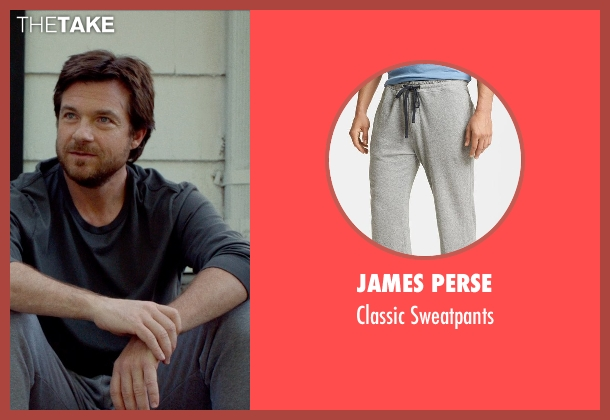 JAMES PERSE gray sweatpants from This Is Where I Leave You seen with Jason Bateman (Judd Altman)