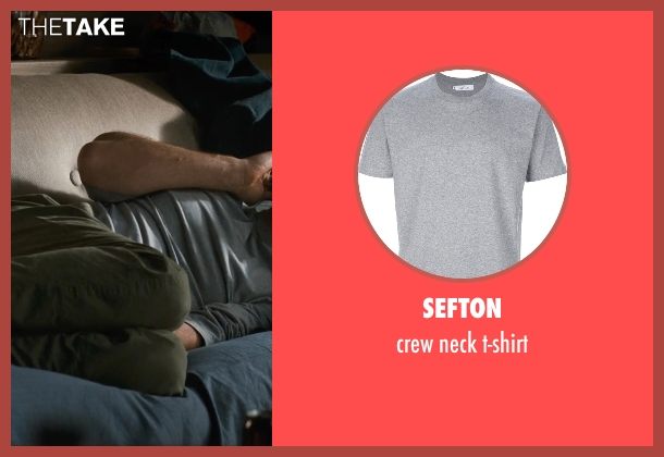 SEFTON gray t-shirt from This Is Where I Leave You seen with Jason Bateman (Judd Altman)
