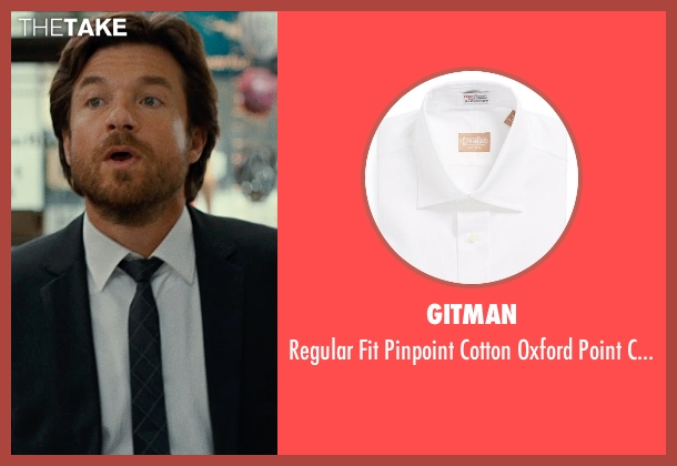 GITMAN white shirt from This Is Where I Leave You seen with Jason Bateman (Judd Altman)