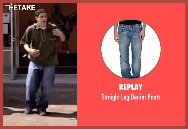 Replay blue pants from American Pie seen with Jason Biggs (Jim Levenstein)
