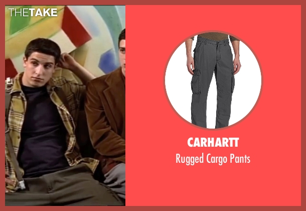 Carhartt gray pants from American Pie seen with Jason Biggs (Jim Levenstein)