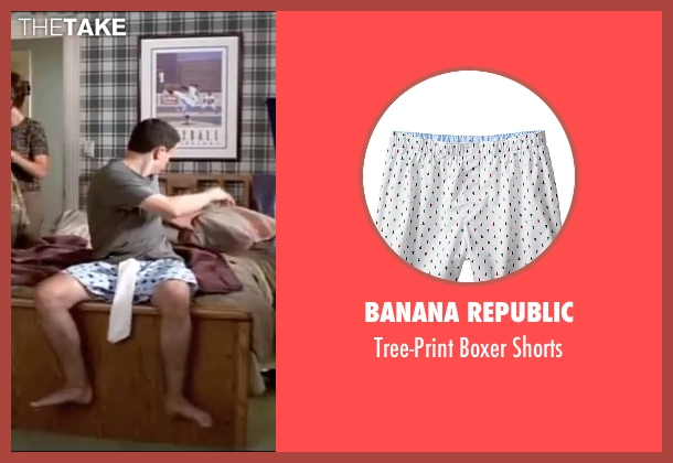 Banana Republic white shorts from American Pie seen with Jason Biggs (Jim Levenstein)