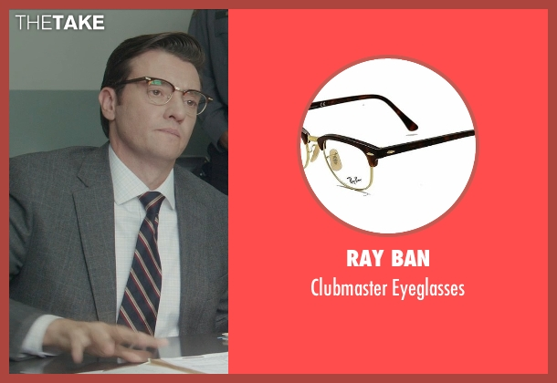 Ray Ban eyeglasses from Blackhat seen with Jason Butler Harner (Frank)