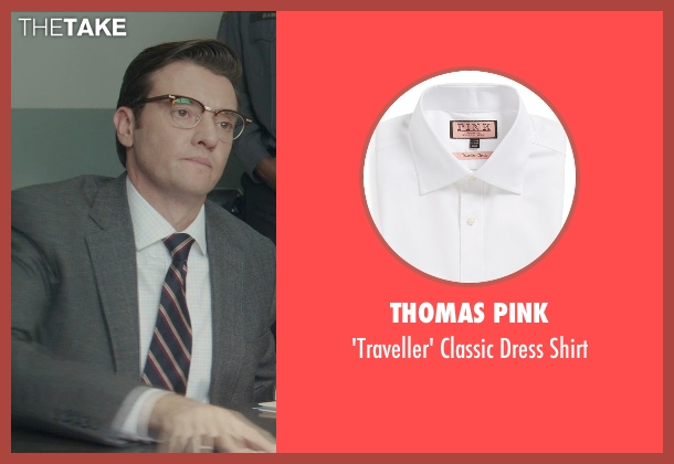 Thomas Pink white shirt from Blackhat seen with Jason Butler Harner (Frank)