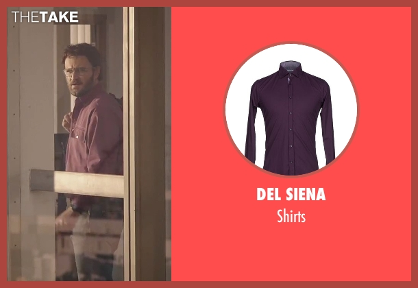 Del Siena purple shirts from Everest seen with Jason Clarke (Rob Hall)