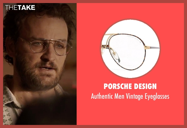 Porsche Design silver eyeglasses from Everest seen with Jason Clarke (Rob Hall)