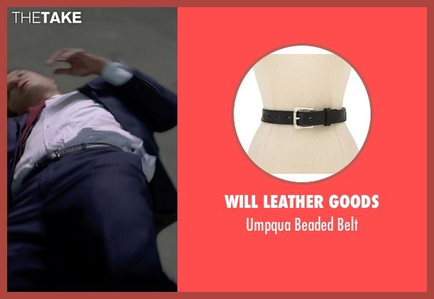 Will Leather Goods black belt from Terminator: Genisys seen with Jason Clarke (John Connor)