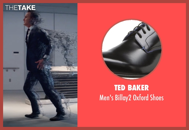 Ted Baker black shoes from Terminator: Genisys seen with Jason Clarke (John Connor)