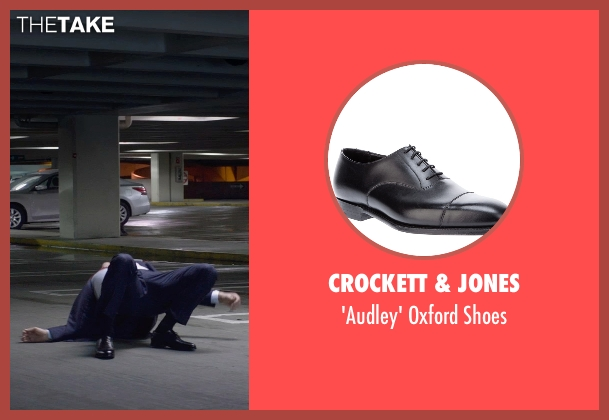 Crockett & Jones black shoes from Terminator: Genisys seen with Jason Clarke (John Connor)