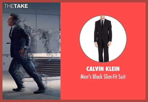 Calvin Klein black suit from Terminator: Genisys seen with Jason Clarke (John Connor)