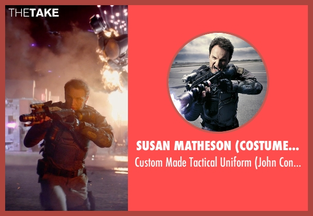 Susan Matheson (Costume Designer) uniform from Terminator: Genisys seen with Jason Clarke (John Connor)