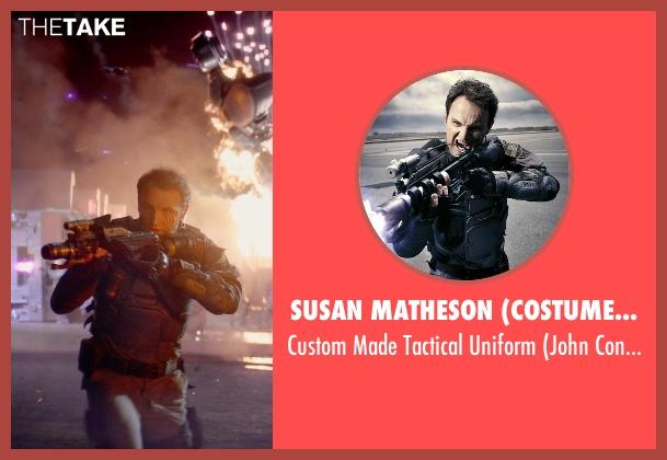 Susan Matheson (Costume Designer) uniform from Terminator: Genisys seen with Jason Clarke (John Connor)