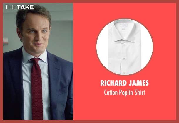 Richard James white shirt from Terminator: Genisys seen with Jason Clarke (John Connor)