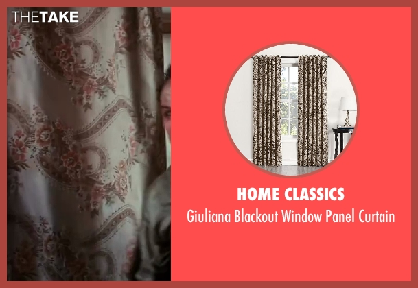Home Classics curtain from The Great Gatsby seen with Jason Clarke (George Wilson)