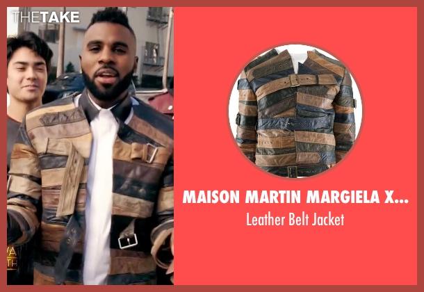 Maison Martin Margiela x H&M brown jacket from Empire seen with Jason Derulo