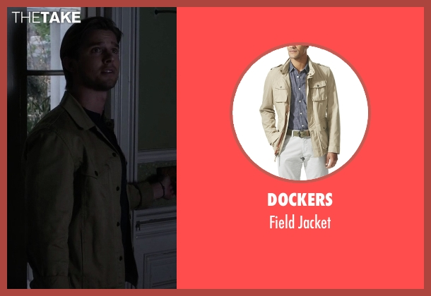 Dockers beige jacket from Pretty Little Liars seen with Jason DiLaurentis (Drew Van Acker)