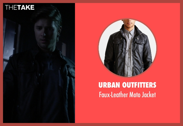 Urban Outfitters black jacket from Pretty Little Liars seen with Jason DiLaurentis (Drew Van Acker)