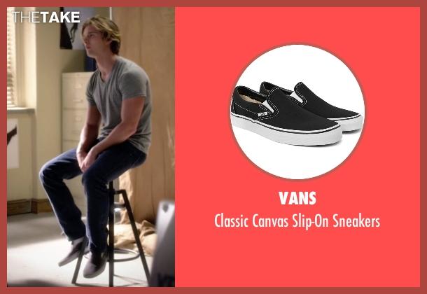 Vans black sneakers from Pretty Little Liars seen with Jason DiLaurentis (Drew Van Acker)