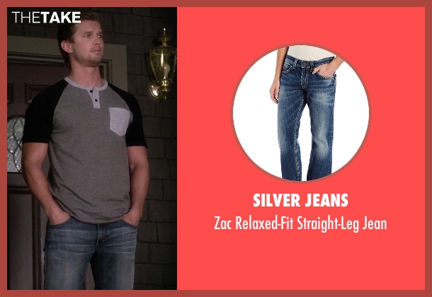 Silver Jeans blue jean from Pretty Little Liars seen with Jason DiLaurentis (Drew Van Acker)