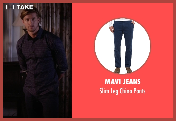 Mavi Jeans blue pants from Pretty Little Liars seen with Jason DiLaurentis (Drew Van Acker)