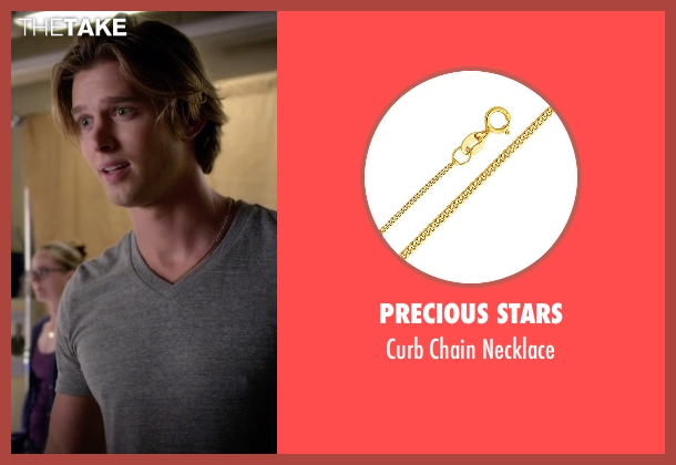 Precious Stars gold necklace from Pretty Little Liars seen with Jason DiLaurentis (Drew Van Acker)