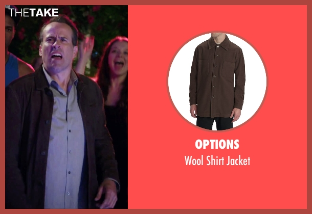 Options brown jacket from Alvin and the Chipmunks: The Road Chip seen with Jason Lee (Dave)