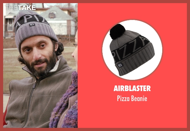 Airblaster gray beanie from Adult Beginners seen with Jason Mantzoukas (Unknown Character)
